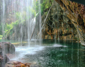 Behind Falls Hanging Lake WR